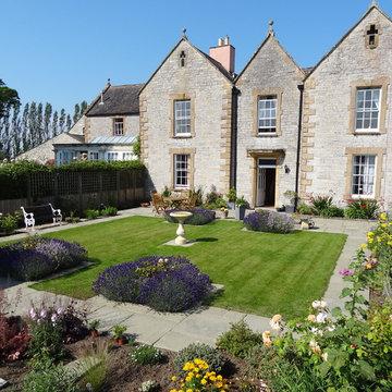 Small Formal Garden Somerset