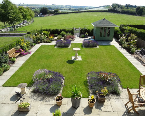 Small formal garden home design ideas pictures remodel for Formal garden designs ideas