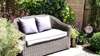 Small Garden- Comfortable corner