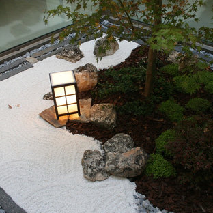 Small interior Zen garden