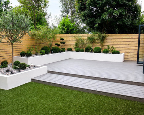 50 affordable contemporary garden design ideas stylish affordable small contemporary back fully shaded garden for summer in other with a potted garden and decking workwithnaturefo