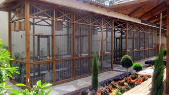 Softwood Garden Aviary