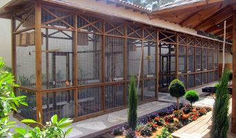 Softwood Garden Aviary