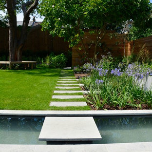 Design Ideas For A Medium Sized Contemporary Back Full Sun Garden For  Summer In London With