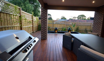Stained Blackbutt Deck