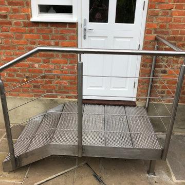 Stainless Steel Stair platform