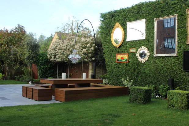 Eclectic Garden by Cool Gardens Landscaping Ltd