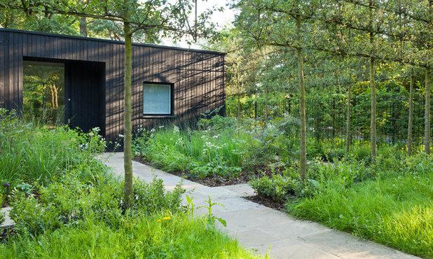 Farmhouse Landscape by Stefano Marinaz Landscape Architecture