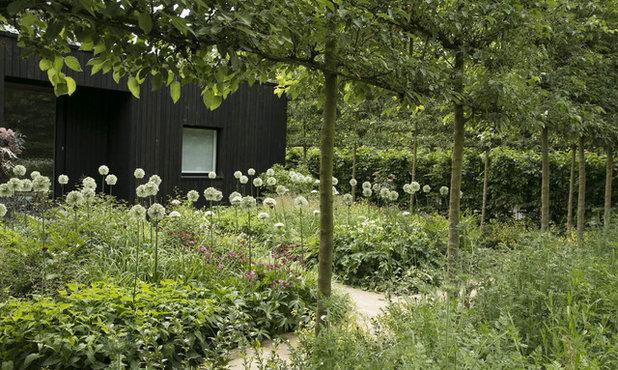 カントリー 庭 by Stefano Marinaz Landscape Architecture