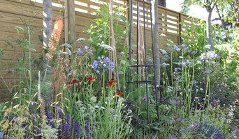 The Jacksons Secret Garden Party at RHS Hampton Court Palace Flower Show 2015