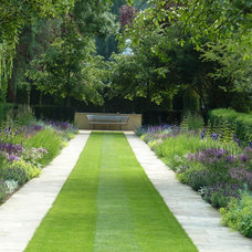 Traditional Landscape by Randle Siddeley Associates