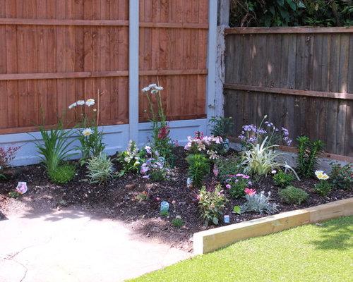 Fotos de jardines | Diseños de jardines en patio lateral en Essex