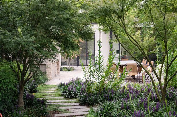 Contemporaneo Giardino by Eckersley Garden Architecture