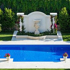 Mediterranean Landscape by Franklin Landscape & Design