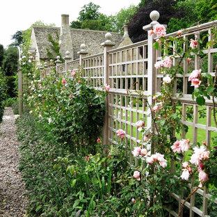 Foto på en vintage trädgård