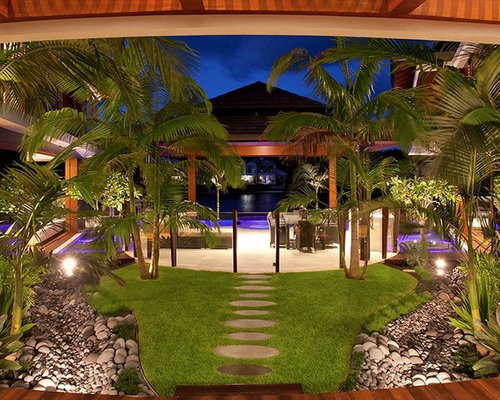 Tropical sunshine coast landscape design ideas remodels for Landscape design sunshine coast