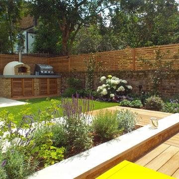 Urban living garden, Hackney