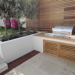Design ideas for a contemporary garden in London.