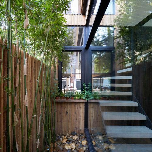 Design Ideas For A Small Asian Backyard Formal Garden In Melbourne With A  Vegetable Garden.