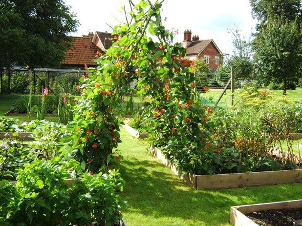 American Traditional Garden by Melanie Jackson Garden Design