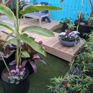 75 Most Popular Courtyard Garden with Decking Design Ideas ...