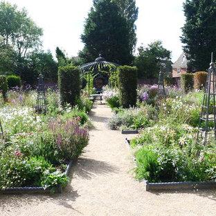 Victorian country house garden