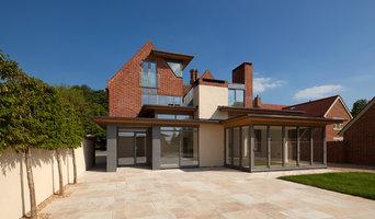 view of rear entrance, The Gables | Steventon Allister Godfrey Architects Ltd