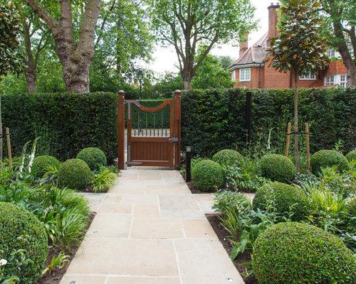 Front Formal Garden Design Ideas Renovations Photos