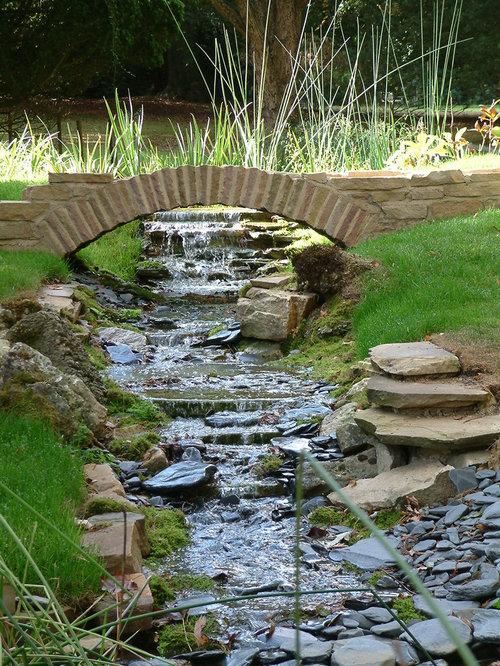 Garden stream ideas pictures remodel and decor for Garden stream designs