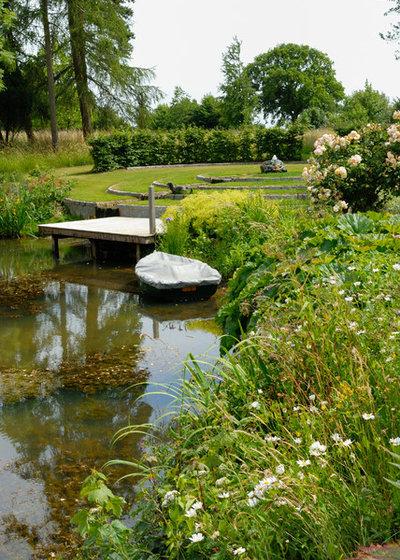 baden gehen: wie sie schwimmteiche und naturpools richtig anlegen, Gartenarbeit ideen