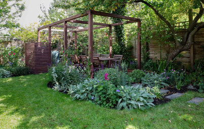 Garden Tour: A Leafy Family Space With Year-round Interest