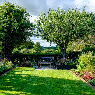 Inspiration For A Medium Sized Country Garden In Hertfordshire.