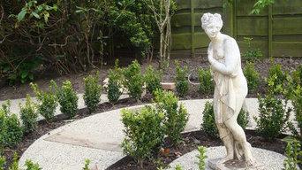 Woolton family garden