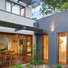 modern exterior by Solar Solutions Design