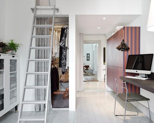 Small Scandinavian Closet Design Ideas, Remodels & Photos