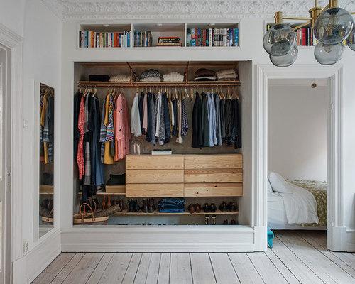 Foton och inredningsidéer för moderna förvaring och garderober