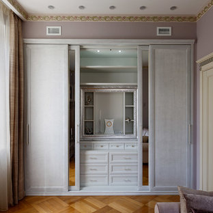 Inspiration for a traditional storage and wardrobe in Saint Petersburg.