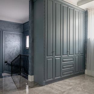 Неиссякаемый источник вдохновения для домашнего уюта: гардеробная в стиле современная классика