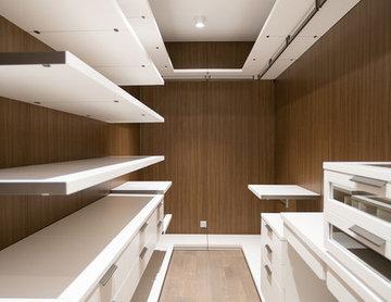 Ремонт трёхкомнатной квартиры 144 кв.м в современном стиле с элементами ар-деко