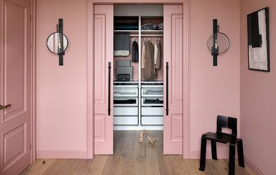 Фотоохота: Спальня с гардеробной комнатой — 35 идей