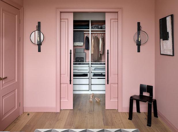 Дизайн спальни с гардеробной комнатой (16 фото), интерьер ... Дизайн Спальни С Угловой Гардеробной