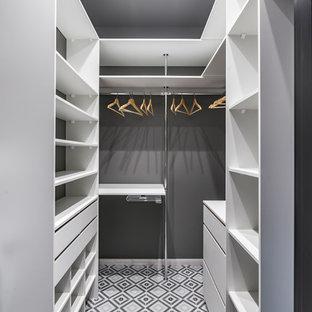 Ejemplo de armario y vestidor actual pequeño