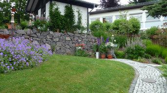Aufgang zum Gartenhaus