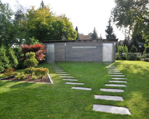 Modernes gartenhaus ideen design bilder houzz - Gartenhaus ideen ...