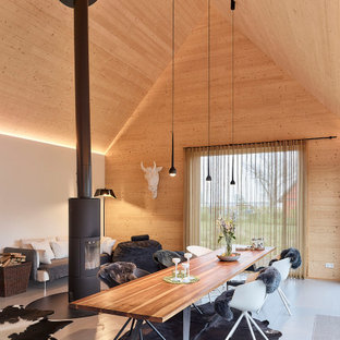 Inspiration for a mid-sized contemporary detached shed and granny flat in Leipzig.