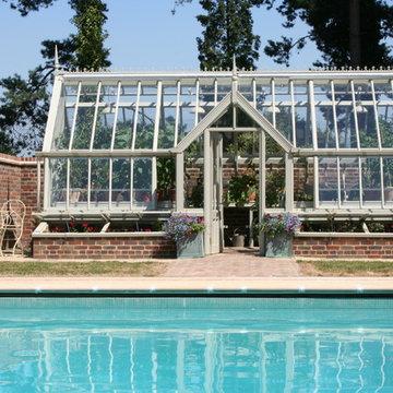 Gewächshaus am Swimming Pool - Alitex