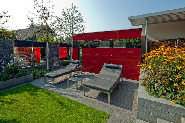 Modern Gartenhaus by Planungsbüro Kemper