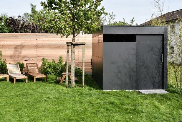 5 Minimalistische Gartenhäuser Aus Deutschland