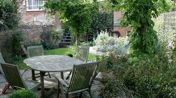 Back garden in Parktown, Oxford