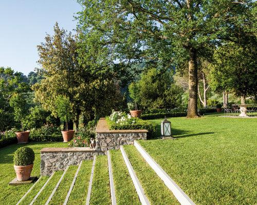 Foto e idee per giardini giardino - Scale in giardino ...